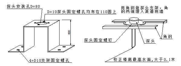 超声波明渠流量计的安装方法